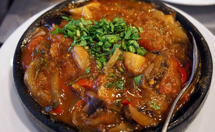 Georgische Küche: Tschachochbili