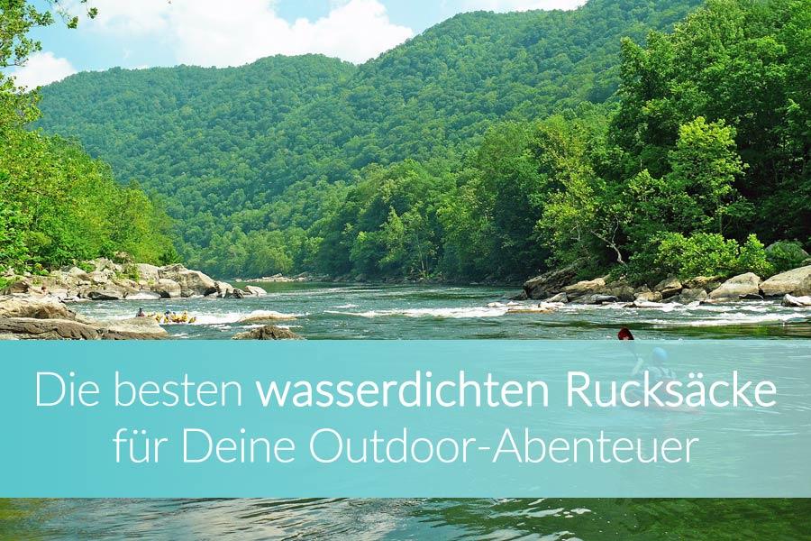 Wasserdichter Rucksack: Outdoor