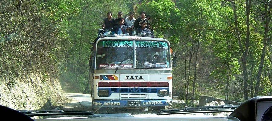 Bus-Nepal-Kathmandu
