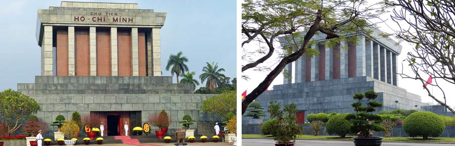Hanoi Sehenswürdigkeiten: Mausoleum Ho Chi Minh