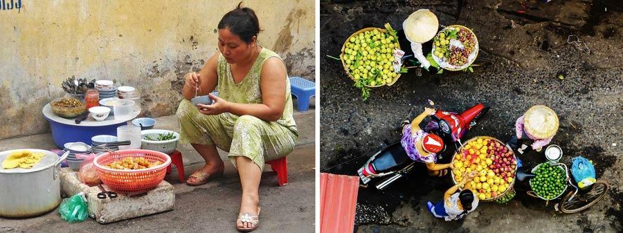 Hanoi Sehenswürdigkeiten: Garküchen und Street Food