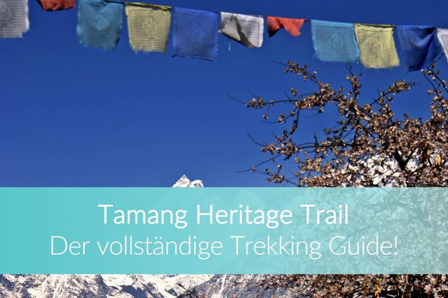 Tamang Heritage Trail: Guide