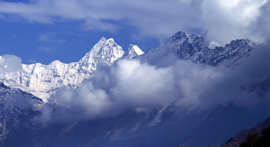 Tamang Heritage Trail: Aussichtspunkt Tibet Manaslu