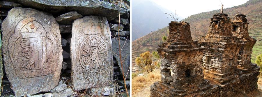 Tamang Kultur: Buddhismus, Religion und Chörten
