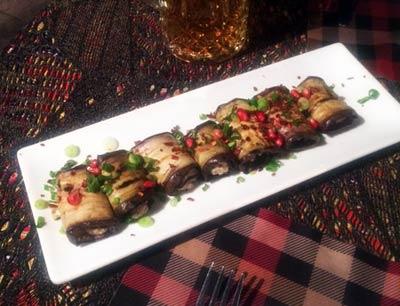 Georgische Küche: Auberginen Mousse vegetarisch