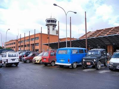 Kathmandu Flughafen Tribhuvan