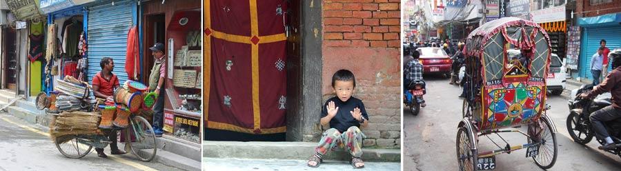 Kathmandu: Metropole Impressionen