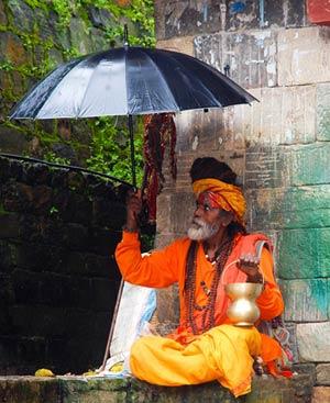 Kathmandu beste Reisezeit und Klima