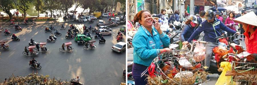 Hanoi: Hauptstadt Vietnams mit Millionen Mopeds
