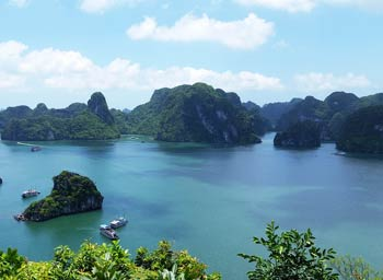 Hanoi Ausflüge Trips zur Halong Bucht