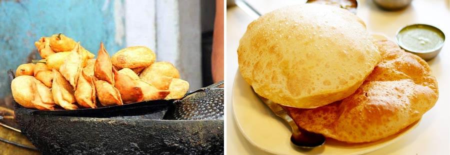 Indisches Essen: Snacks in Indien, Samosas und Momos