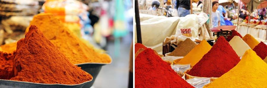 Indisches Essen: Scharfe Gewürze für Tandoori, Naan, Chutney und Dhal