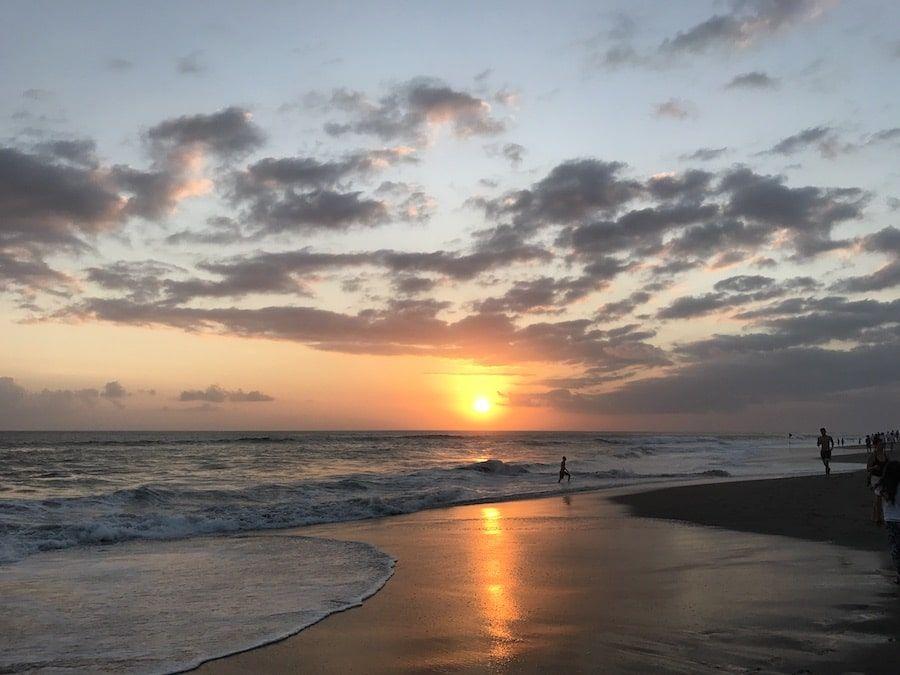 Bali Reisetipps: Canggu Sonnenuntergang