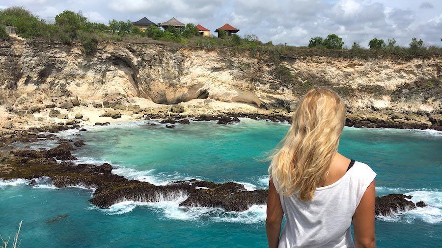 Bali Reisetipps: Nusa Ceningan Blue Lagoon