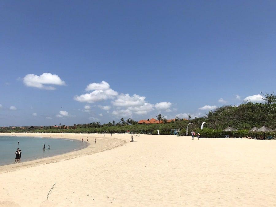 Bali Reisetipps: Nusa Dua Strand