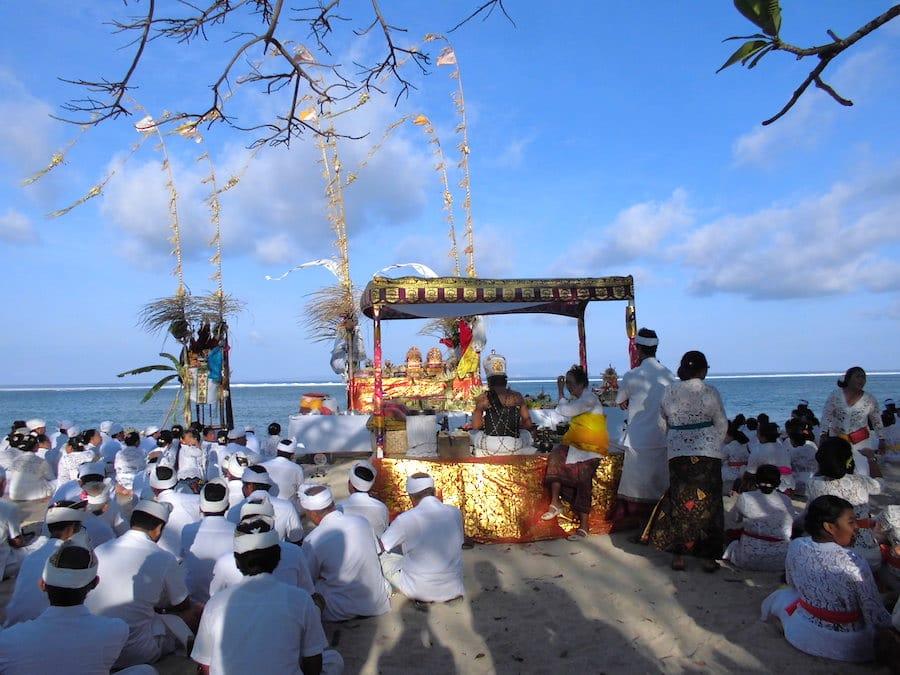 Bali Reisetipps: Sanur Zeremonie