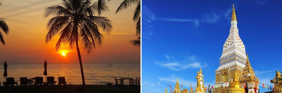 Beste Reisezeit Thailand: Regenzeit, Temperaturen und Klima