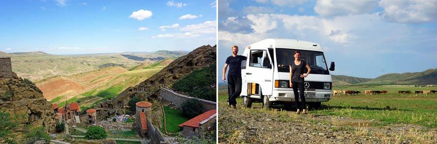 Georgien: Wardsia Kloster und Höhlen