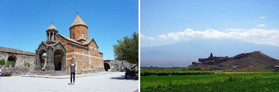 Armenien Sehenswürdigkeiten: Chor Virap