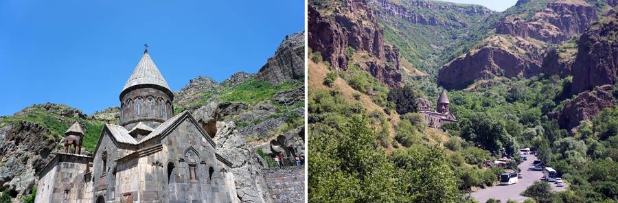 Armenien Sehenswürdigkeiten: Geghard Monastery