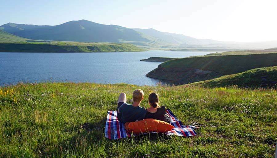 Armenien Sehenswürdigkeiten: Spandarian Reservoir