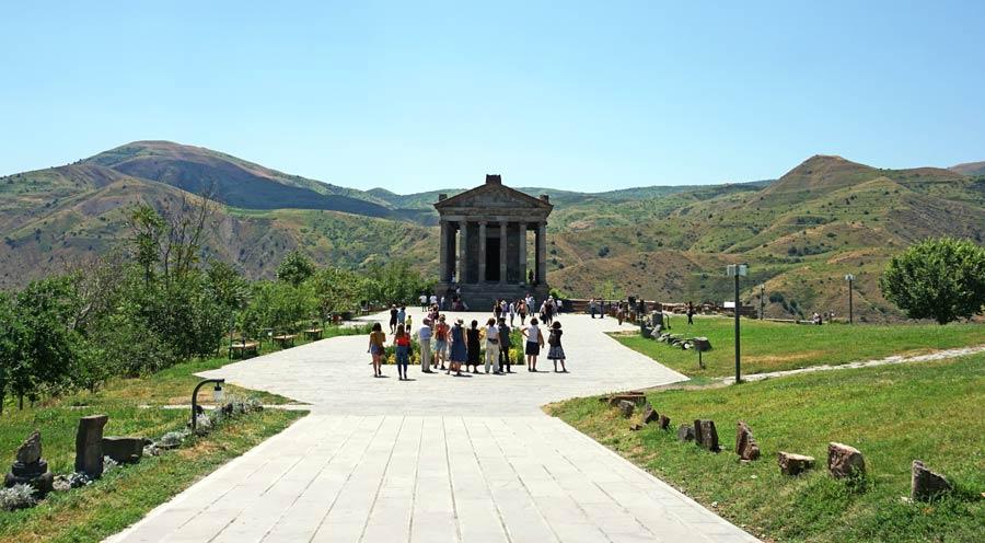 Armenien Sehenswürdigkeiten: Tempel Garni