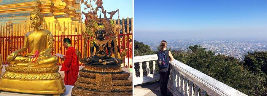 Chiang Mai Hotels: Tempel Doi Suthep und Chedi