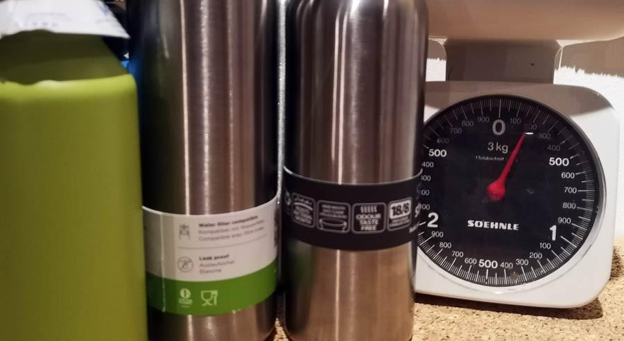 Edelstahl Trinkflasche: Test und Vergleich