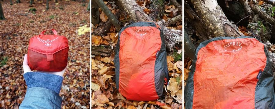 Faltbarer Rucksack: Osprey Backpack