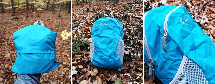 Faltbarer Rucksack: Reiserucksack Mountaintop