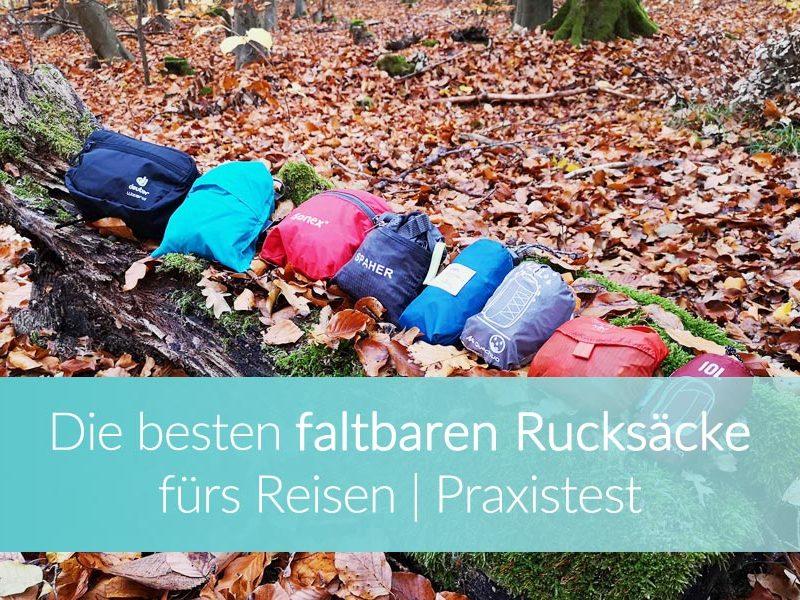 Faltbarer Rucksack Praxistest