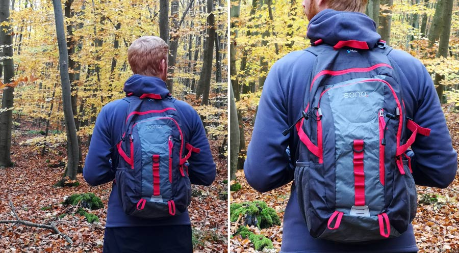 Faltbarer Rucksack: Tagesrucksack kleiner Daypack
