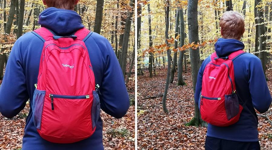 Faltbarer Rucksack Test: Tasche für die Reise