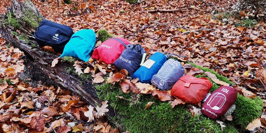 Faltbarer Rucksack: Vergleich, Testsieger