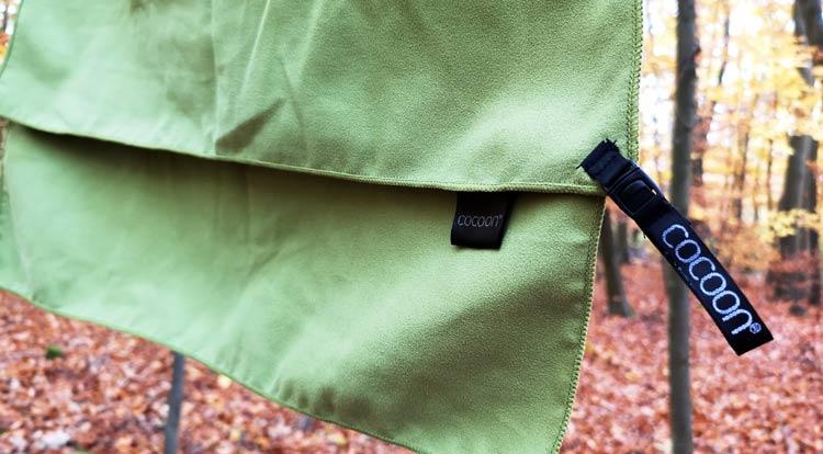 Mikrofaser Handtuch: geringes Packmass und saugstark
