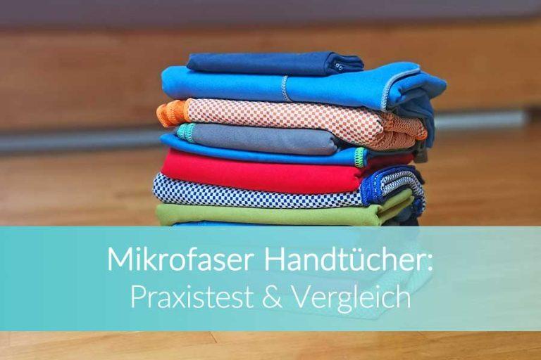 Mikrofaser Handtuch: Die 5 besten Handtücher im Praxistest