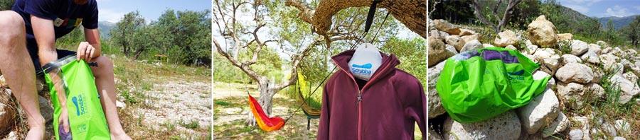 Reisewaschmaschine: waschen ohne Strom für Reise und Outdoor