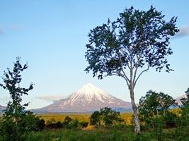 Russland Sehenswuerdigkeiten: Kamtschatka Vulkan, Geysir