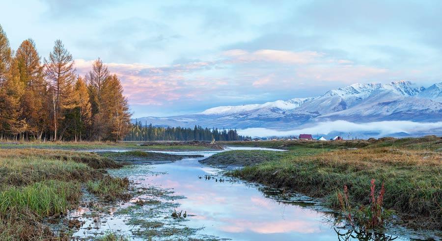 Russland Sehenswuerdigkeiten: Altai Gebirge