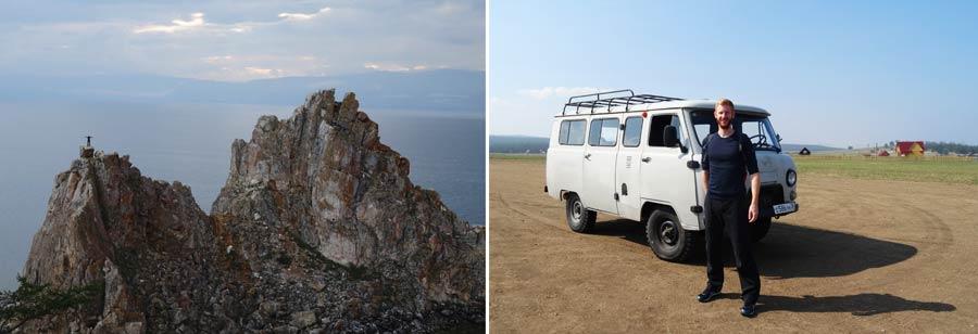 Russland Sehenswuerdigkeiten: Baikalsee, Insel Olchon
