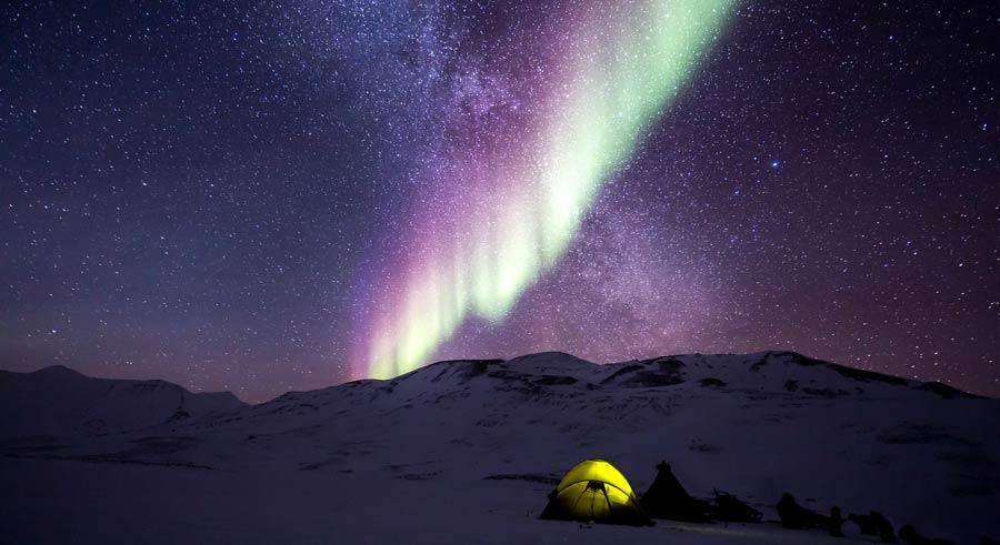 Russland Sehenswuerdigkeiten: Murmansk, Polarlichter