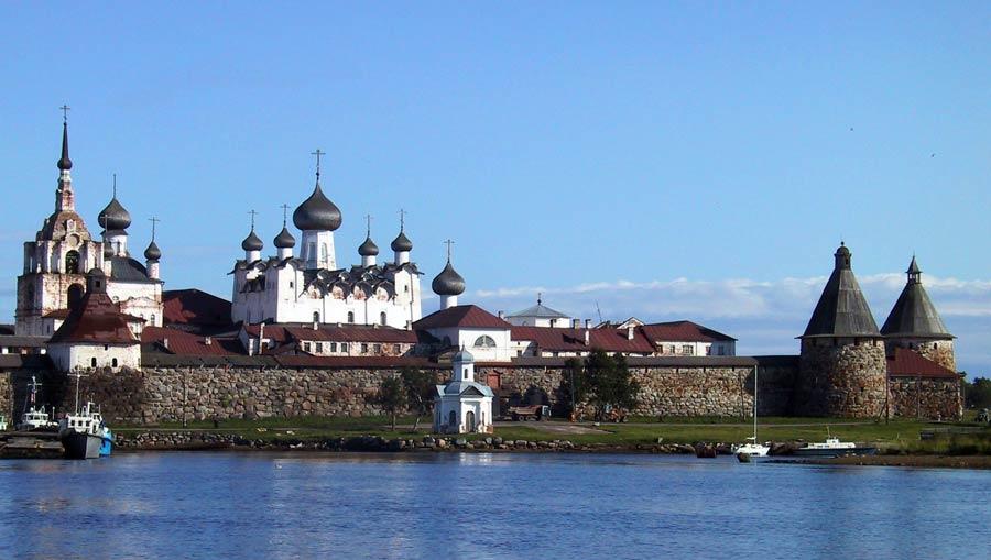 Russland Sehenswuerdigkeiten: Solowezki Inseln