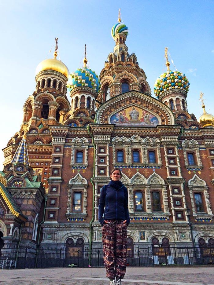 Russland Sehenswuerdigkeiten: Auferstehungskirche, Sankt Petersburg