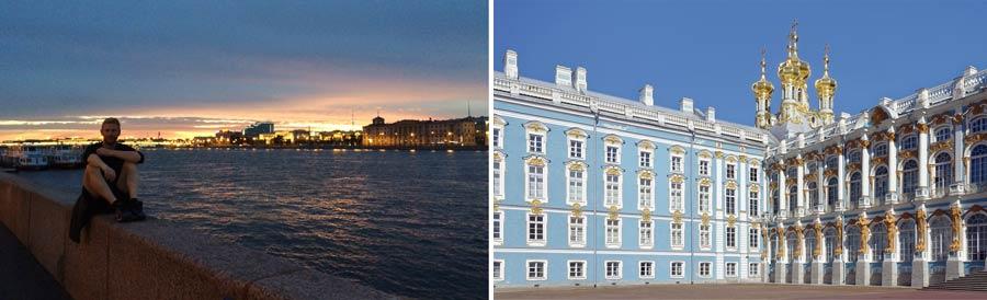 Russland Sehenswuerdigkeiten: Sankt Petersburg