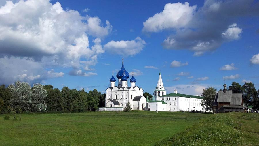 Russland Sehenswuerdigkeiten: Susdal, goldener Ring