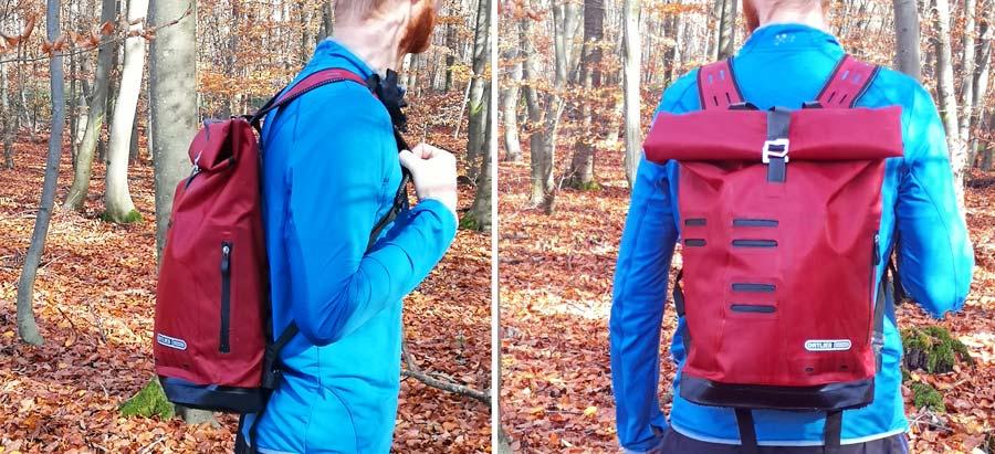 Wasserdichter Rucksack: Ortlieb Backpack