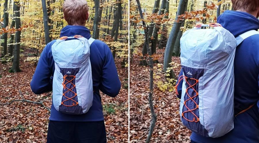 Wasserdichter Rucksack Test: Trekking Drybag