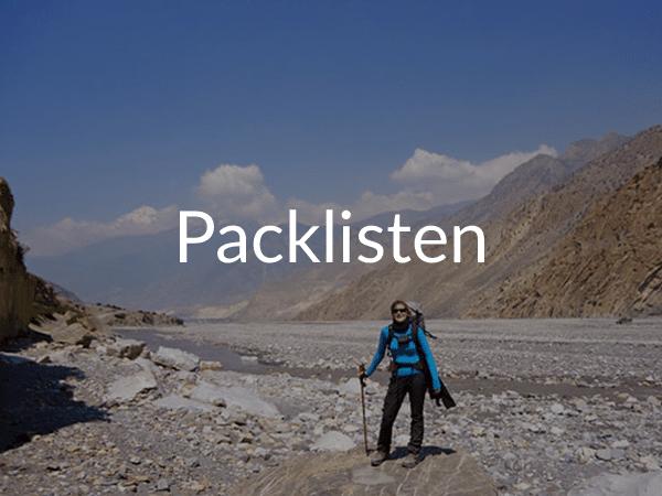 Weltreise: Packliste Reise