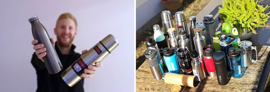 Thermosflasche Test: Isolierflaschen Vergleich