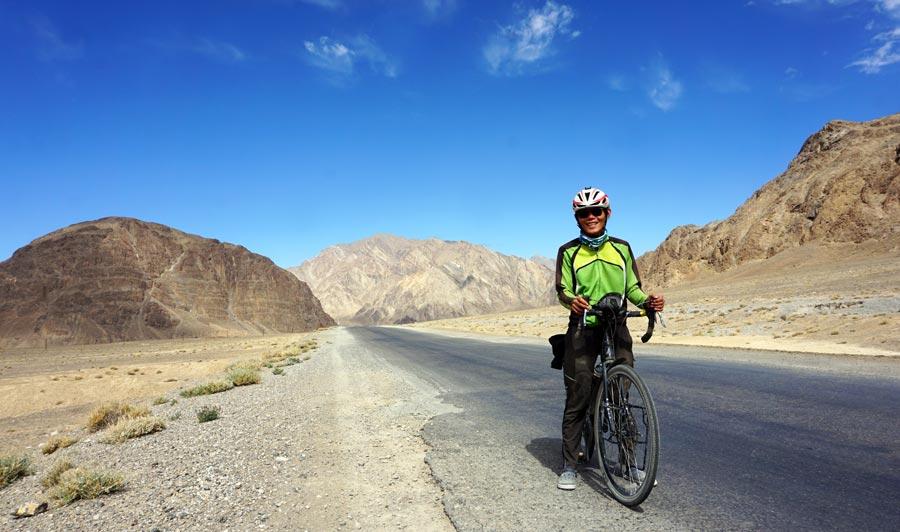 Pamir Highway: Dushanbe Osh, Fahrrad